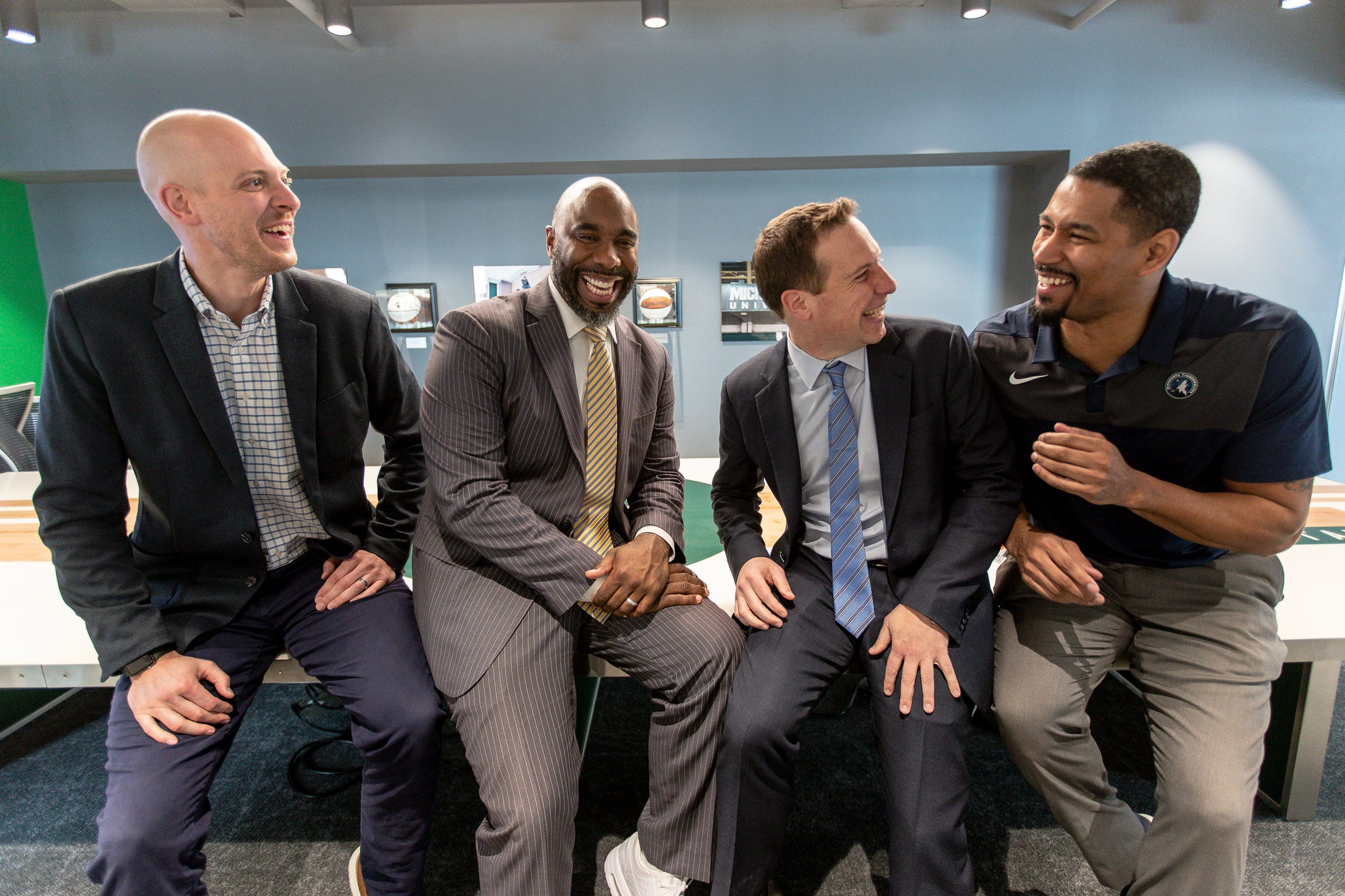 Michigan State Basketball History Comes To Life At United Wholesale Mortgage