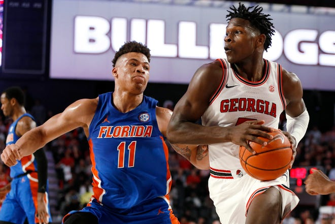 Georgia's Anthony Edwards is considered one of the top guard prospects available in this year's NBA Draft.
