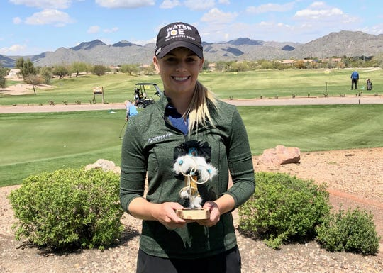 Sarah Burnham won a Cactus Tour tournament in Arizona on Friday.