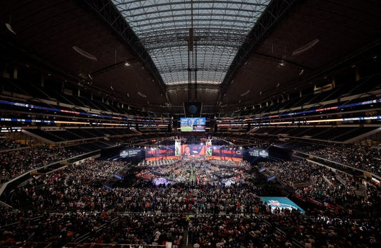 The NFL draft has become an industry unto itself and the league's third-most popular annual event behind the Super Bowl and opening weekend. (AP Photo/David J. Phillip, File)