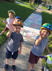 With three Pre-K aged boys at home, the Rayes family has tried to stick to their same routine doing circle time and lots of fun activities and experiments.