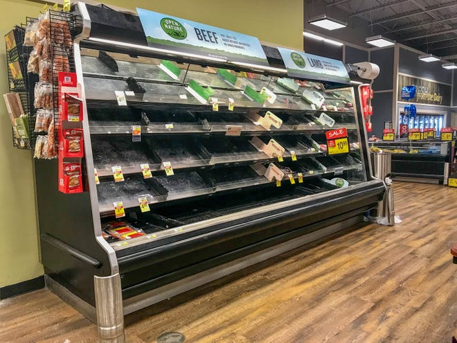 Grocery store employees are among those Louisiana workers eligible for special state hazard pay for those working during the COVID-19 pandemic.