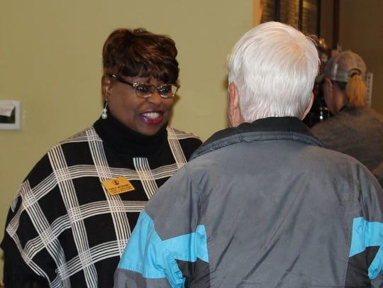 Councilwoman Paula McCraney, D-7th District
