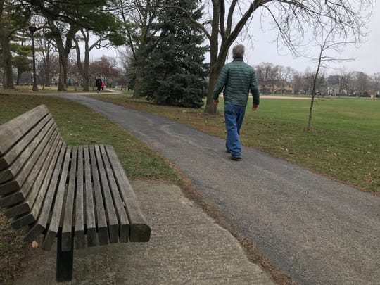 These days, even walking in a park now has questions about social etiquette, and distancing.