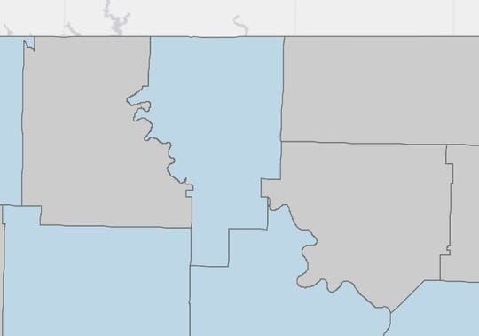 Baxter County apparently has its first confirmed case of COVID-19.