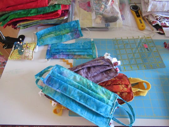 Area quilters are making handmade face masks for the Baxter County Regional Medical Center, area nursing homes and local hospice providers.