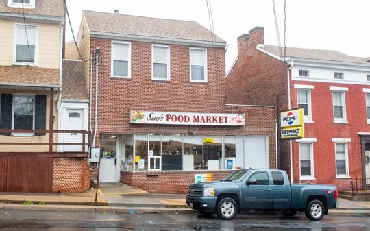 Sue's Food Market on Hellam Street in Wrightsville is still open during this trying time.