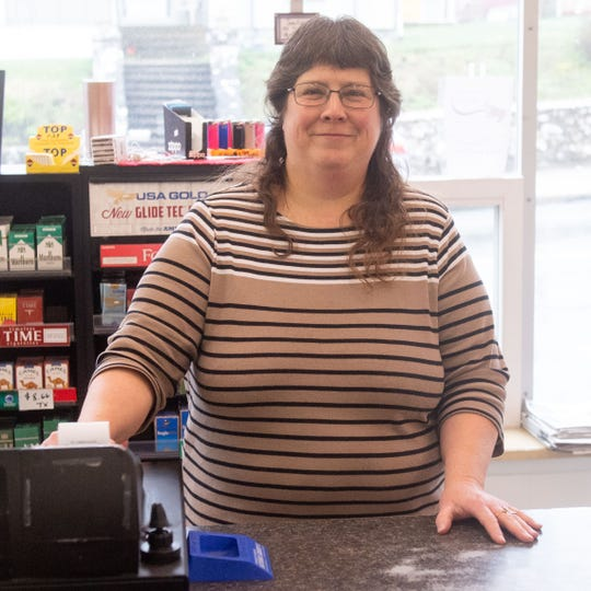Sue Myers, owner of Sue's Food Market in Wrightsville, has kept her store open to be a sort of lifeline for many residents.
