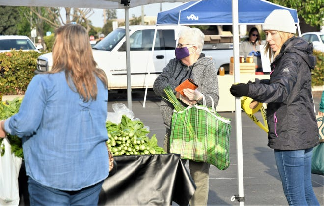"Visalia Farmers Market is an ""essential"" food service for the community and remains open. On Saturday, March 28, 2020, the farmers market started offering assisted shopping for community members."