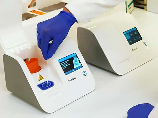 'A game changer': FDA authorizes Abbott Labs' portable, 5-minute coronavirus test the size of a toaster