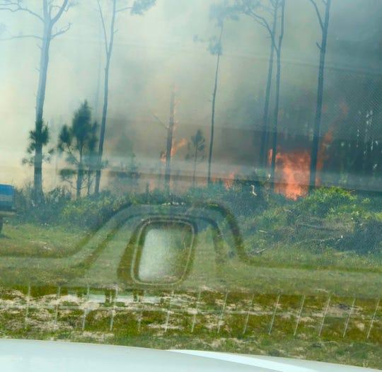 Saturday's blaze taken by Brevard County Fire Rescue crews