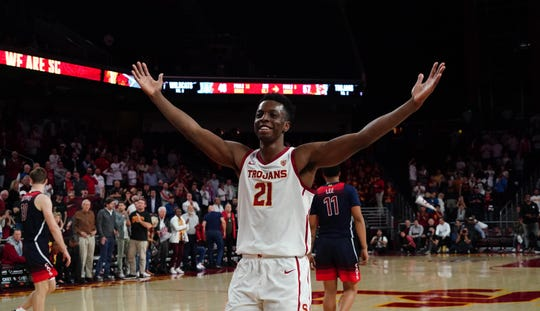 Onyeka Okongwu's scouting report: Strong and mobile, he provides versatile defense, but needs to develop an outside game.