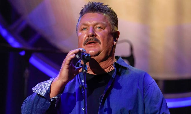 Joe Diffie is shown performing at the 12th annual ACM Honors in Nashville, Tenn., in 2018.