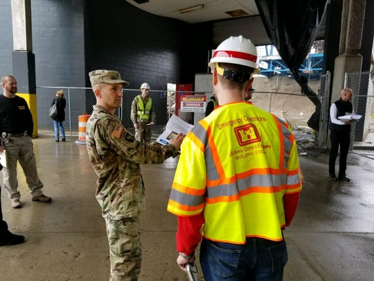 The U.S. Army Corps of Engineers, Detroit District, will retrofit the TCF Center to add 900 hospital beds to help with overflow from hospitals nearing capacity because of the coronavirus pandemic.