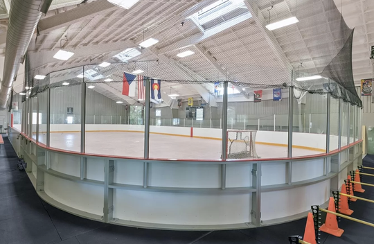 Milan Hejduk's home features an indoor hockey rink and a Zamboni in Parker, Colorado.