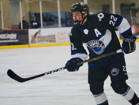 Colorado Thunderbirds center Marek Hejduk was one of 23 players selected to join USA Hockey's U17 national development program in Plymouth. (Courtesy of Colorado Thunderbirds)