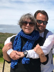 Chef Andre de Waal and his mom