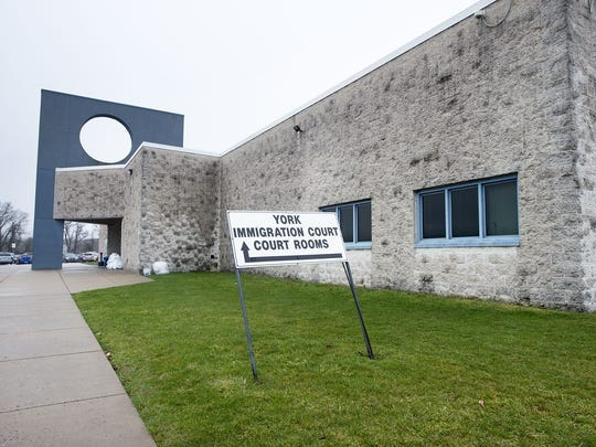 In this undated file photo, York Immigration Court in Springettsbury Township is shown. U.S. District Judge John E. Jones III on Tuesday ordered the immediate release of a group of people being held in immigration detention due to the novel coronavirus, which causes a disease known as COVID-19.