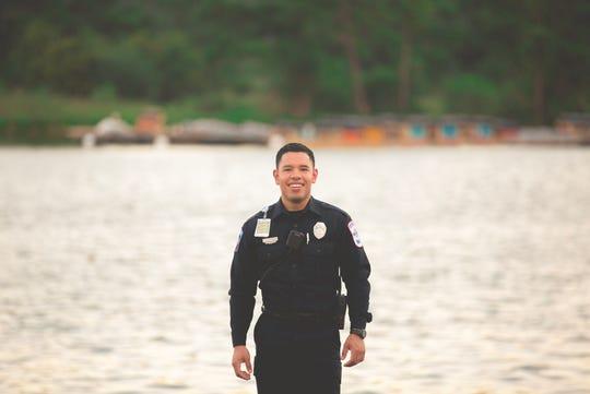 Jesus Contreras is a DACA recipient working as a paramedic in Houston.