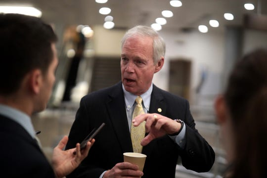 Sen. Ron Johnson, R-Wis., serves on the Commerce and Homeland Security committees.