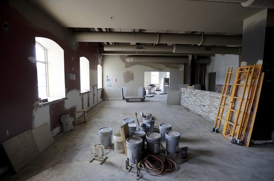 Interior demolition is complete and now reconstruction has started on the new River Tyme Bistro in Appleton.