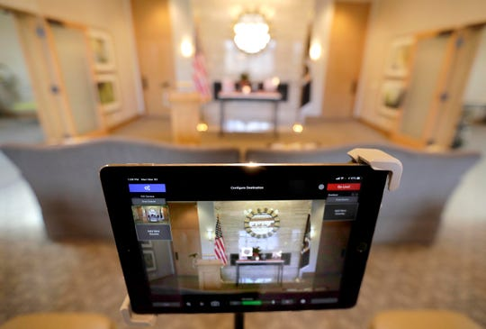 Wichmann Funeral Homes & Crematories has begun live streaming funeral services in an effort to maintain social distancing requirements.