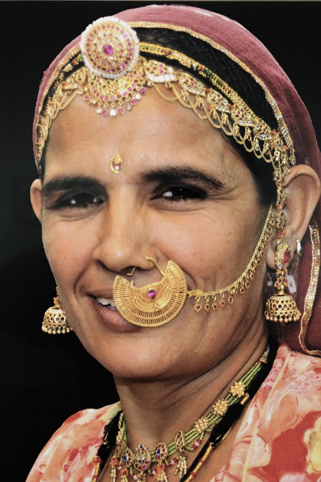 """""""Lady of India,"""" Jaipur, India"""
