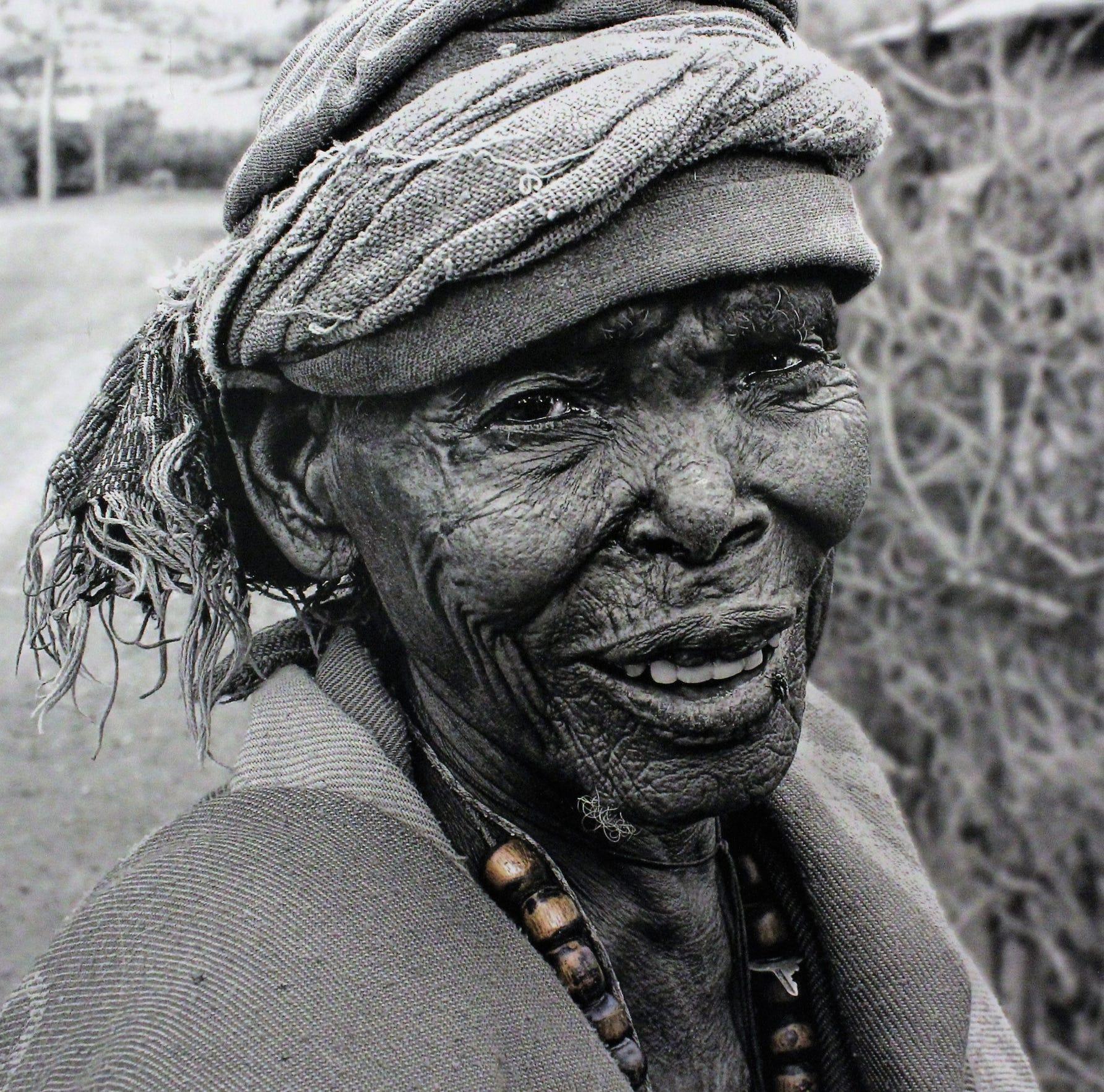 Villager with key, Bilbala, Ethiopia