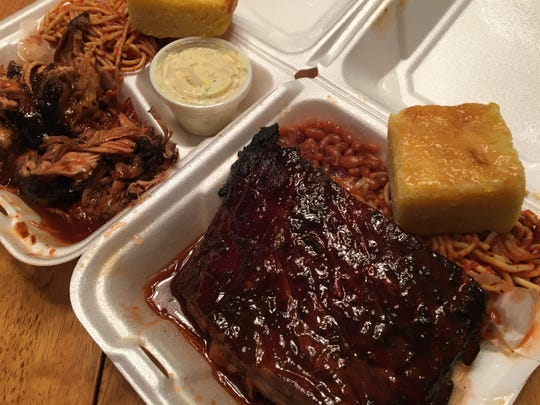 Looking for some good BBQ takout, check in with O.T.'s Up-N-Smoke for award-winning ribs and pulled pork among other choices.