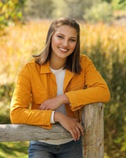 Lily Oliver poses for her senior photo. The Rice Memorial High School senior didn't imagine she would miss out on many senior activities for spring 2020 and even have to commit to a college without a campus visit due to the novel coronavirus pandemic.