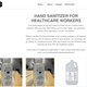 Montpelier based distillery Caledonia Spirits has shifted its production line toward producing hand sanitizer for nurses, doctors and first responders,  as seen on its website on March 30, 2020.