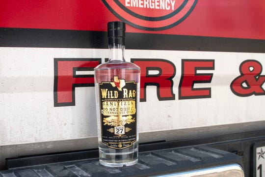 South Texas Distillery Home of Wild Rag Vodka is providing sanitizer local first responders. As of now, it's not providing any for the public because of limited supplies.