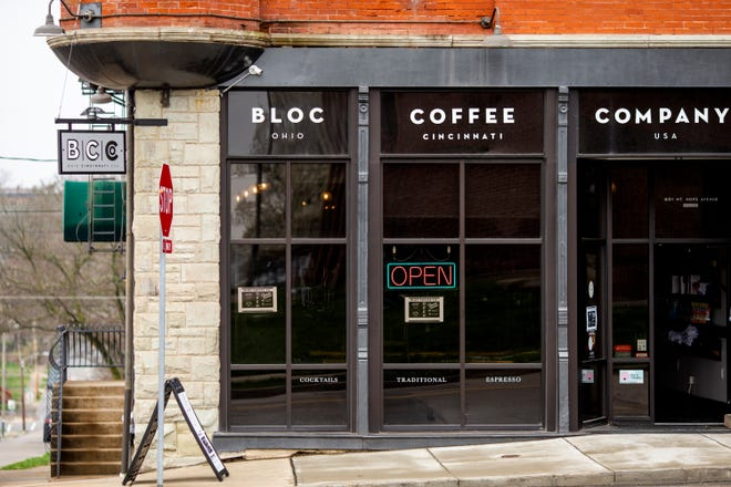 Bloc Coffee Company in East Price Hill is open for limited hours and offers take out food options at this time. The coffee shop is connected to a nonprofit ministry.