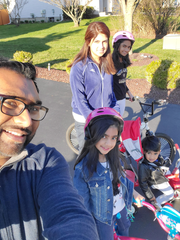 Friday, March 27, was Family Fun Day where students were encouraged to share how they are having fun with their families while they are home.