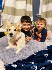 Monday, March 23, was Pet Day where students were encouraged to play with their real or stuffed animals.