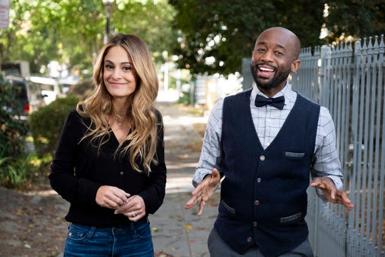 """Joelle Uzyel and Mikel Welch are the co-hosts of Quibi's new """"Murder House Flip."""" Welch grew up in Southfield."""