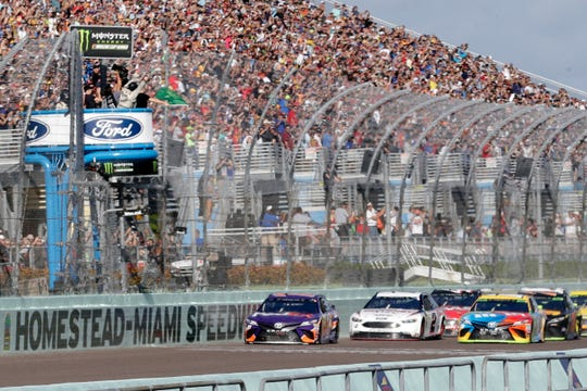 NASCAR was scheduled to run Sunday at Atlanta Motor Speedway without spectators but said  March 13 it is calling off this weekend and next week's race at Homestead-Miami Speedway. IndyCar was scheduled to open its season Sunday on the streets of St. Petersburg, Florida, but suspended its season through the end of April.