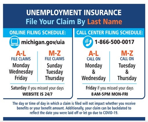 Michigan Adding Servers Call Centers To Handle Record Unemployment Claims