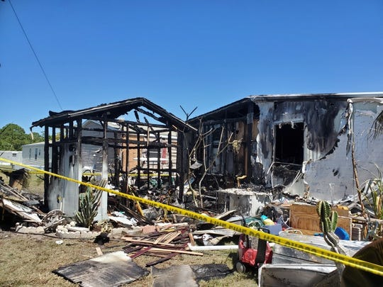 Throughout the weekend, American Red Cross volunteers from Florida's Southern Gulf Chapter responded to multiple home fires impacting families in the following cities: Clewiston, Naples and North Fort Myers.The above house was on Eland Avenue in North Fort Myers.