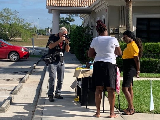 Andrew West, a visual artist for The News-Press and Naples Daily News, has been out in the field bravely covering the coronavirus coverage for our Southwest Florida community.