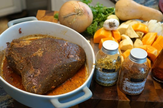 Gloria Jordan, chef-owner of La Trattoria Cafe Napoli in south Fort Myers, makes her favorite pot roast.