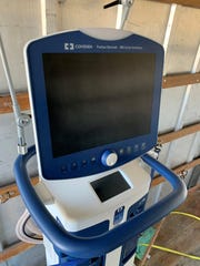 """Great Falls College has given Benefis Health System two ventilators for use in fighting the COVID-19 pandemic. """"Hopefully, they are never used and sit in storage,"""" said respiratory therapy faculty member Brian Cayko."""