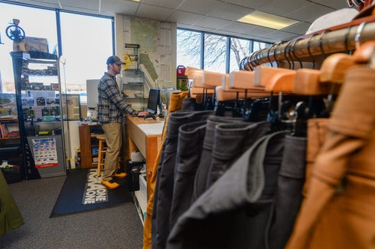 Chris Leatham, who owns Bighorn Outdoor Specialists with his wife Beth, says that they have started using a new online shopping service to help fulfill their customers needs as the nation practices social distancing.