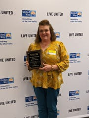 Melissa Polities, of Union County Senior Services, received the Janace Waller Award.