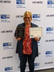 Nicole Welden was awarded the J.K. Waller Award.