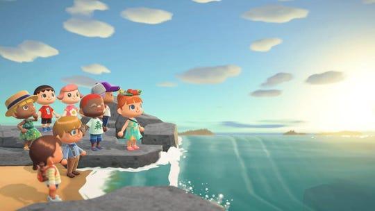 """Animal Crossing: New Horizons"" on the Nintendo Switch"