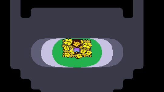 """Screen shot from the video game """"Undertale."""""""