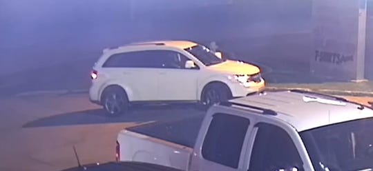 The Lafayette Police Department is searching for a woman who it says was involved in a fatal hit-and-run accident. Surveillance video shows the car that hit the man.