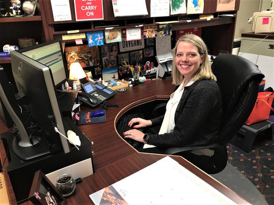 Rachel Elsea is the Fairfield County Board of Commission clerk. She has a variety of duties, including making the three commissioners' event schedule each week.