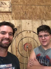 During the pandemic, Kyle Richardson regularly checks on his little brother, Ethan, a junior in high school.They are part of Big Brothers Big Sisters of Kentuckiana.